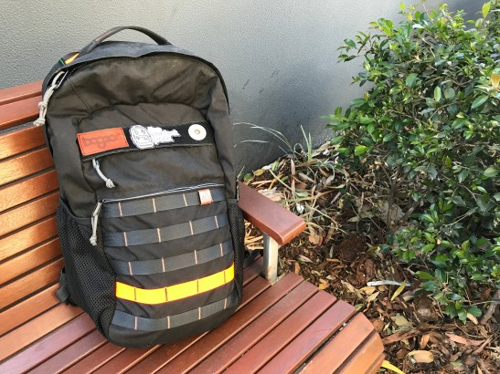 BOgear Spare Camel Review Front