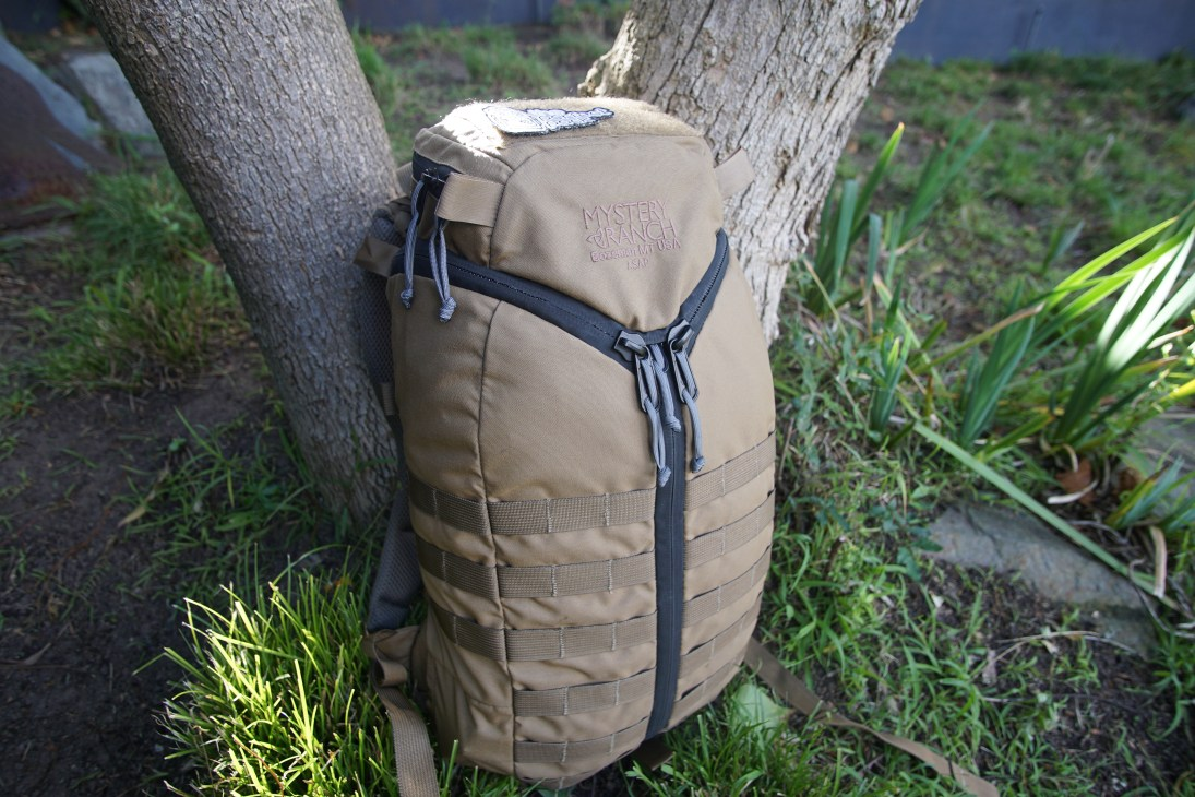 Mystery Ranch ASAP backpack review tri-zip design