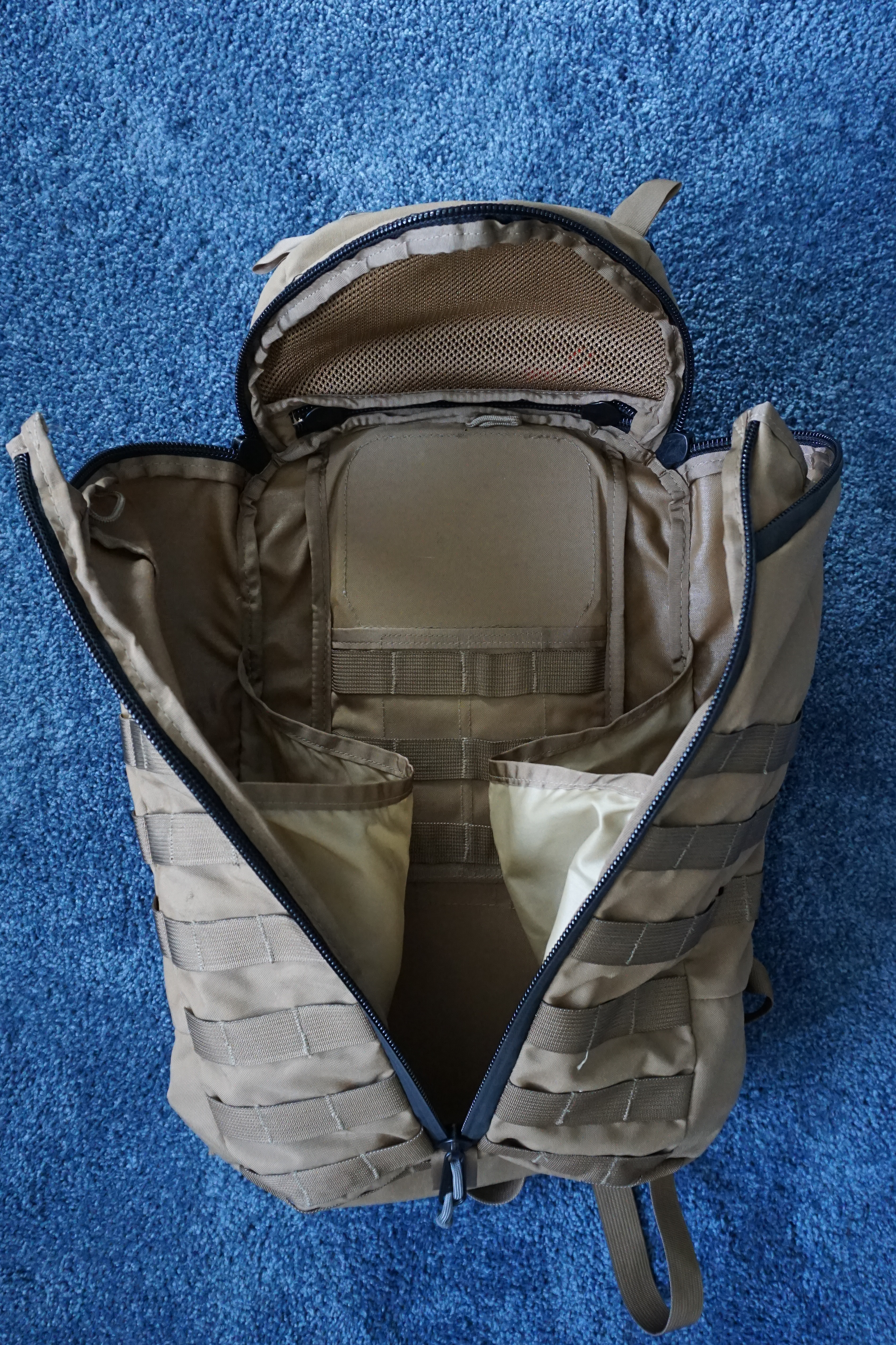 Mystery Ranch ASAP backpack review main compartment empty