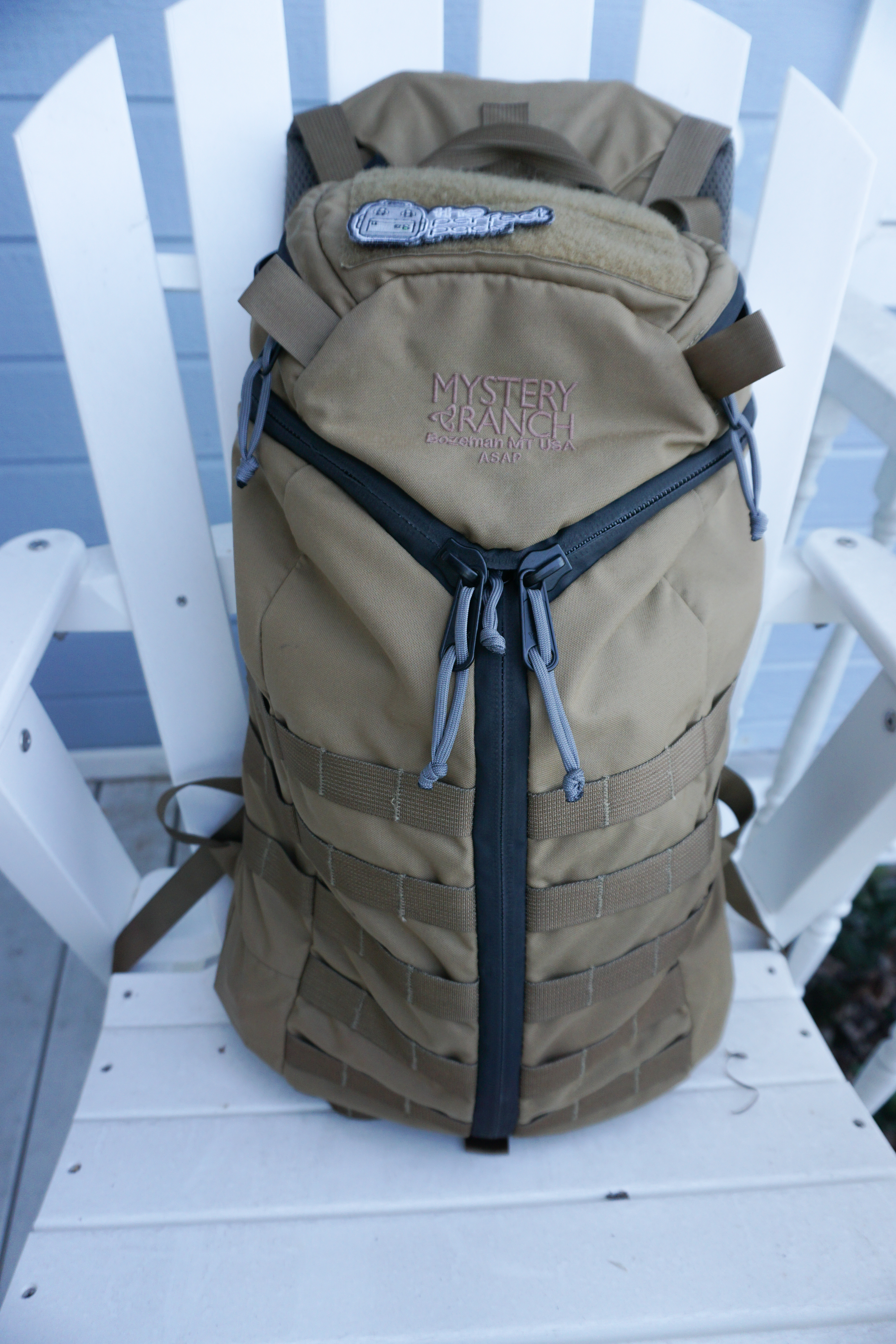 Mystery Ranch ASAP review webbing rows