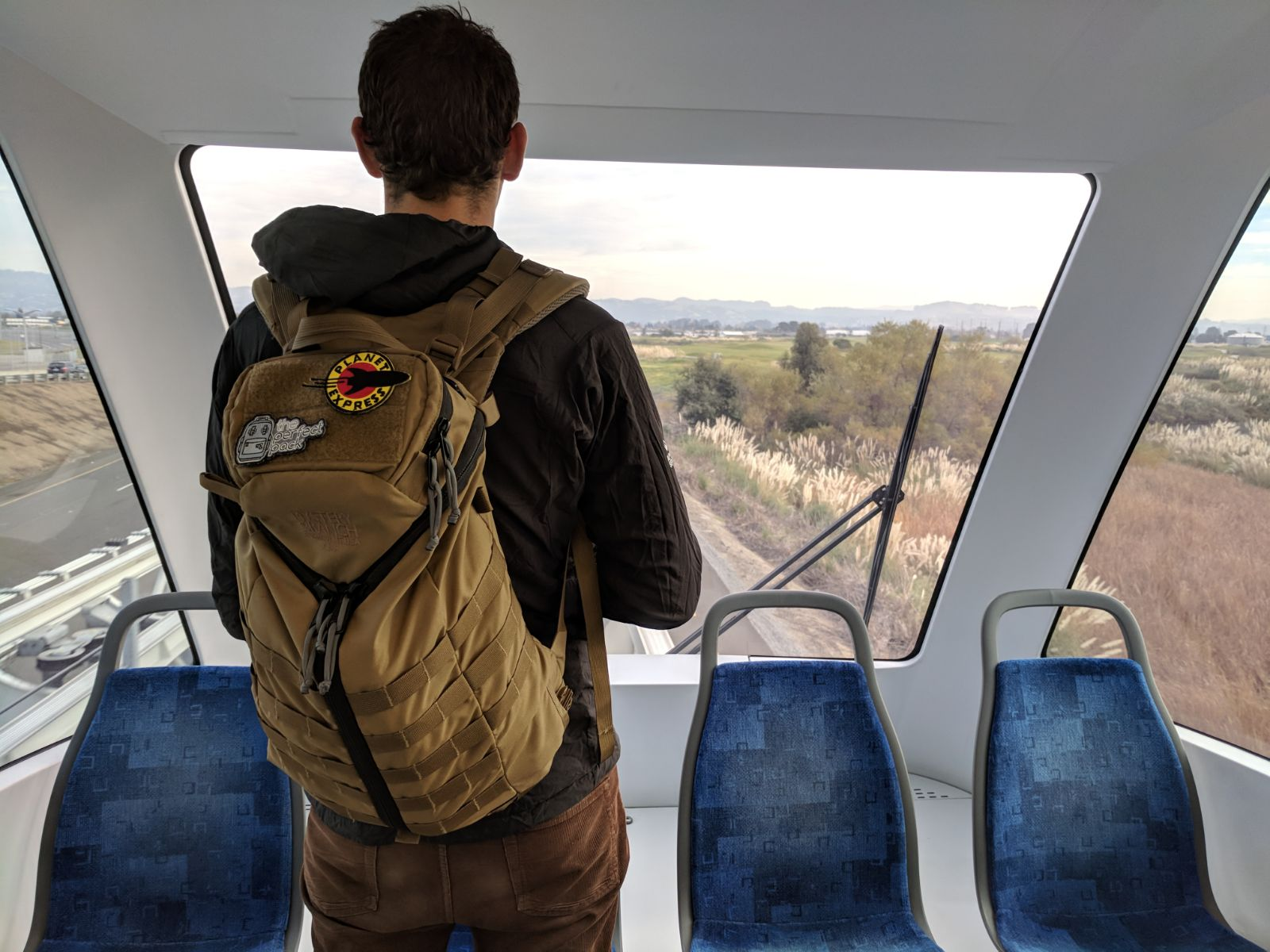 Mystery Ranch ASAP backpack review on body