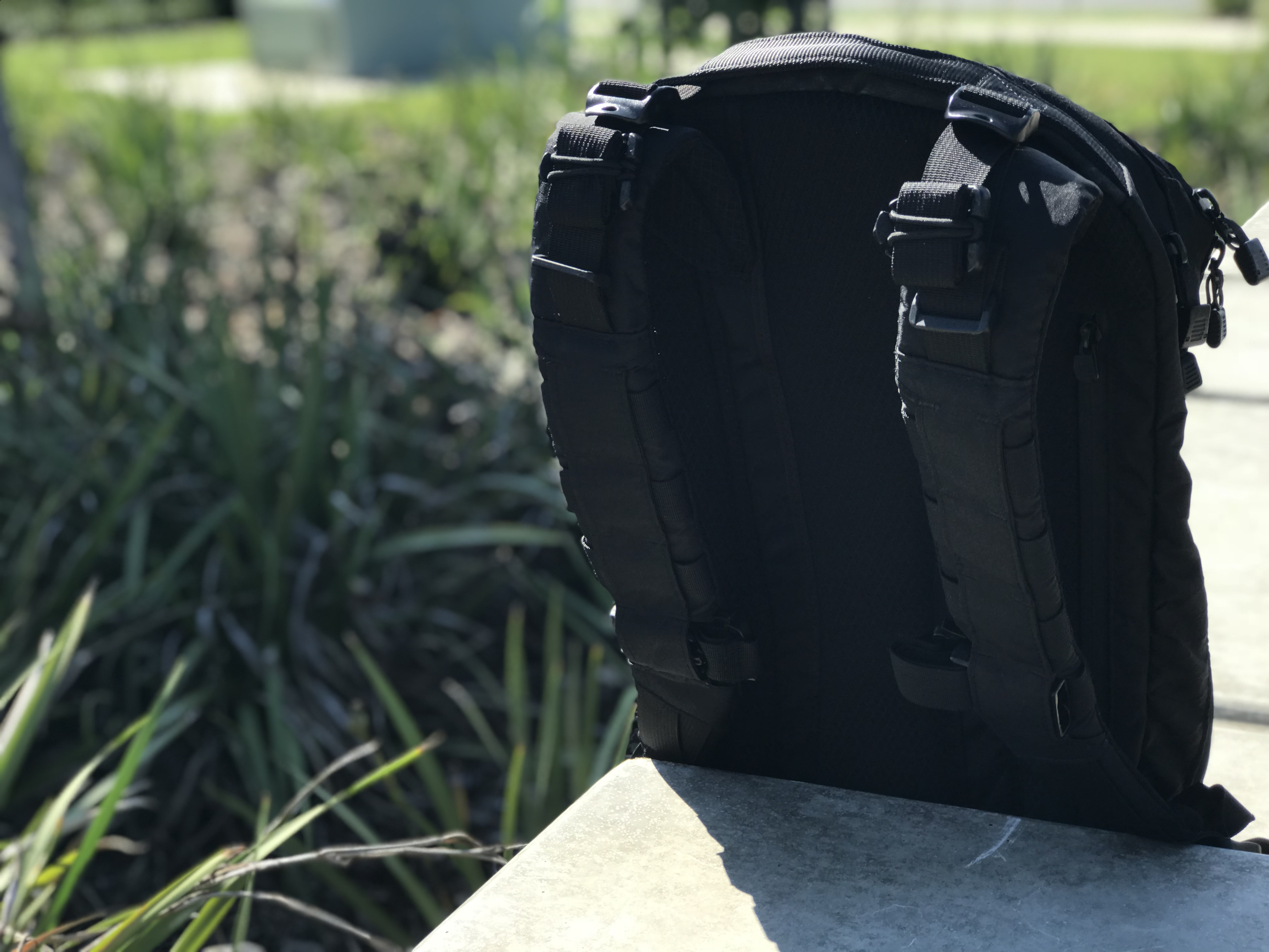 TAD Axiom 18 Review Shoulder Straps Back Panel