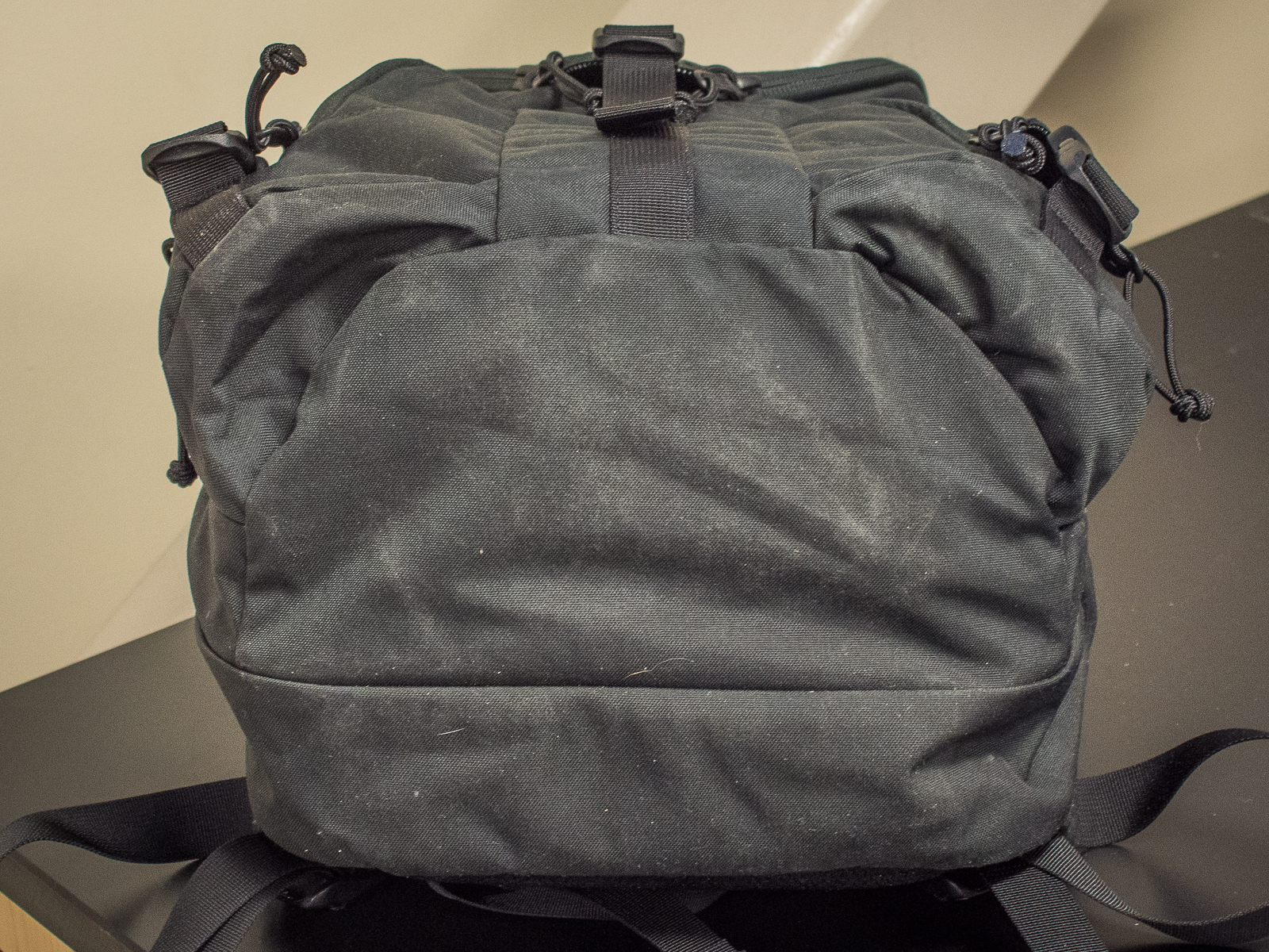Mystery Ranch Rip Ruck review base of pack