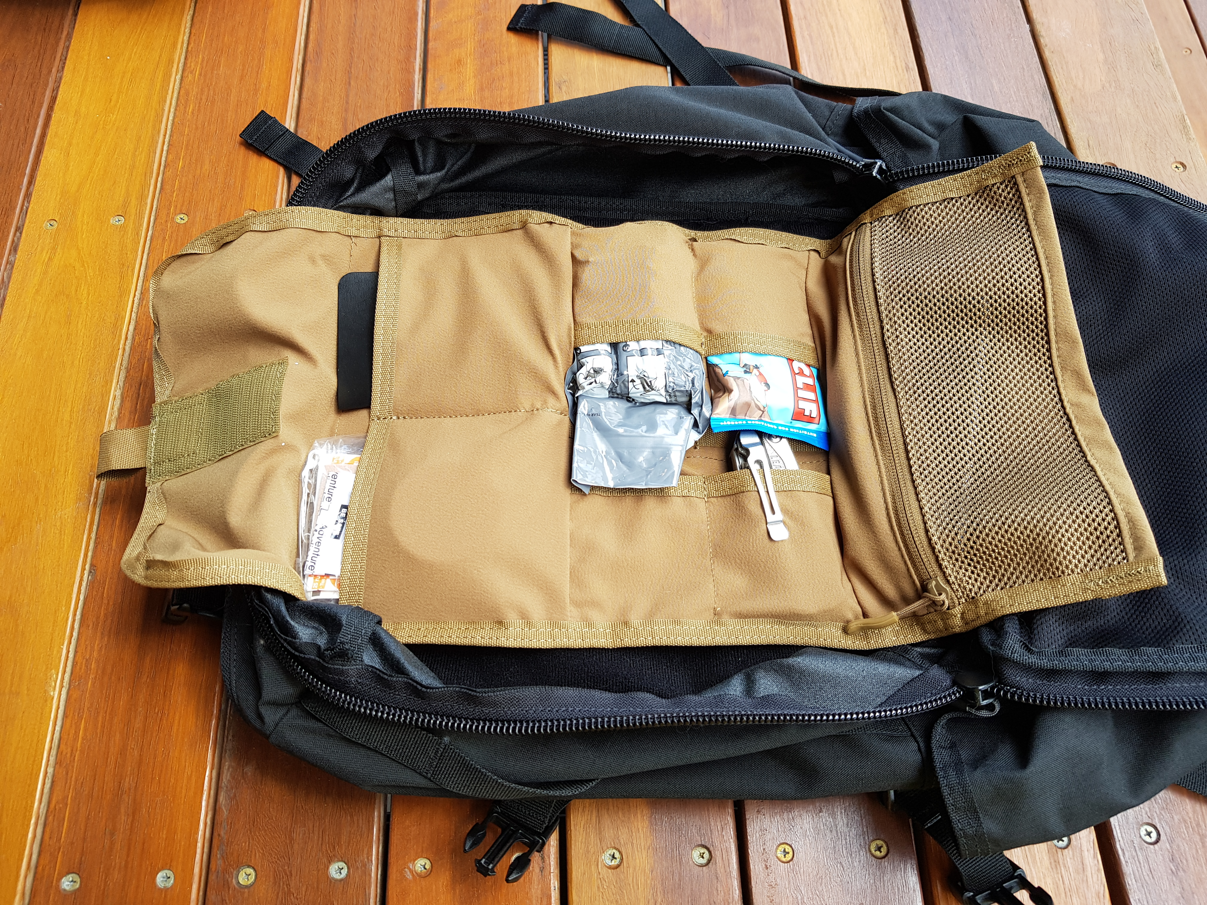Hill People Gear Aston House Backcountry review tool roll loaded