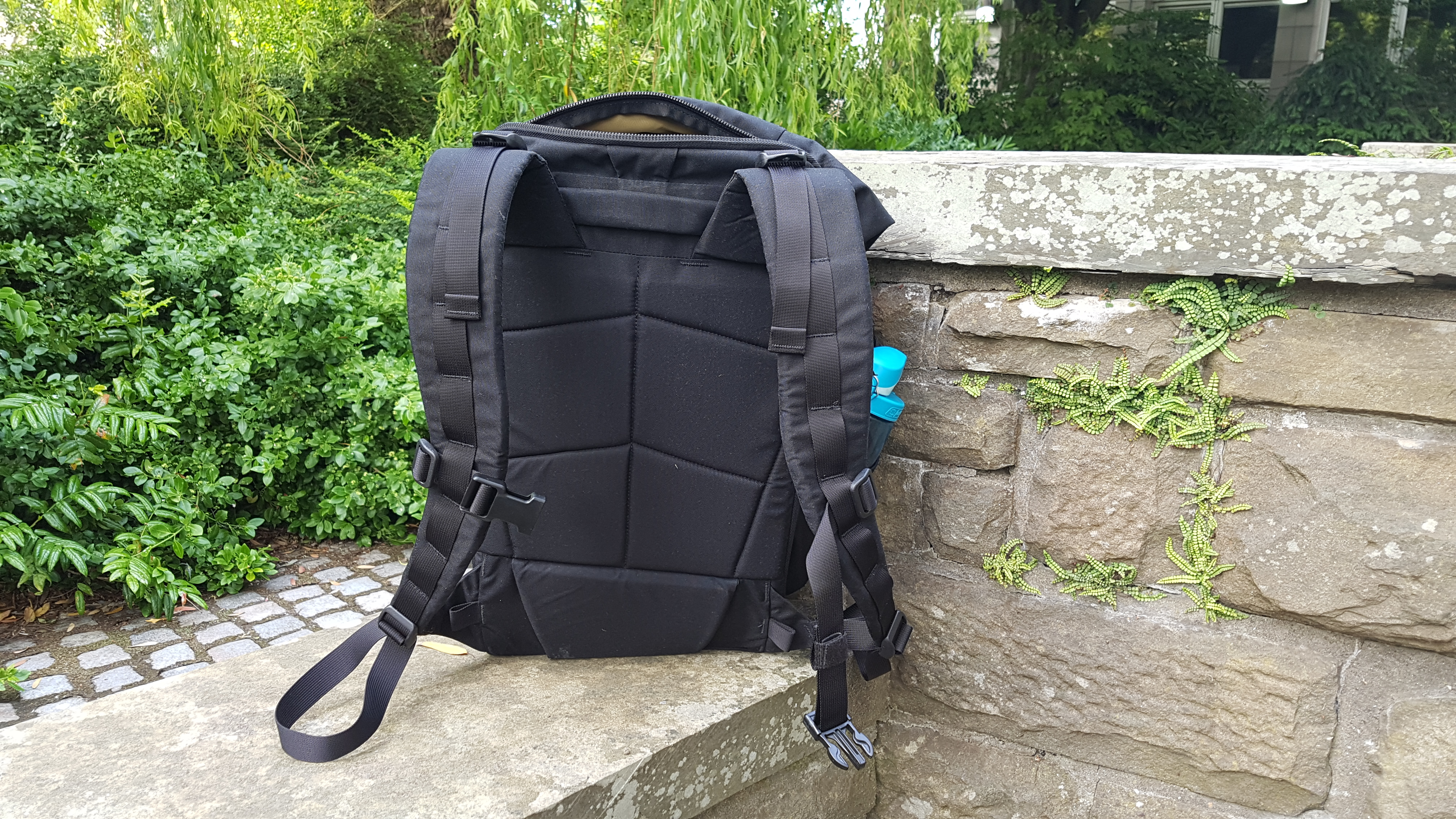 Attitude Supply ATD1 backpack review rear view straps back panel