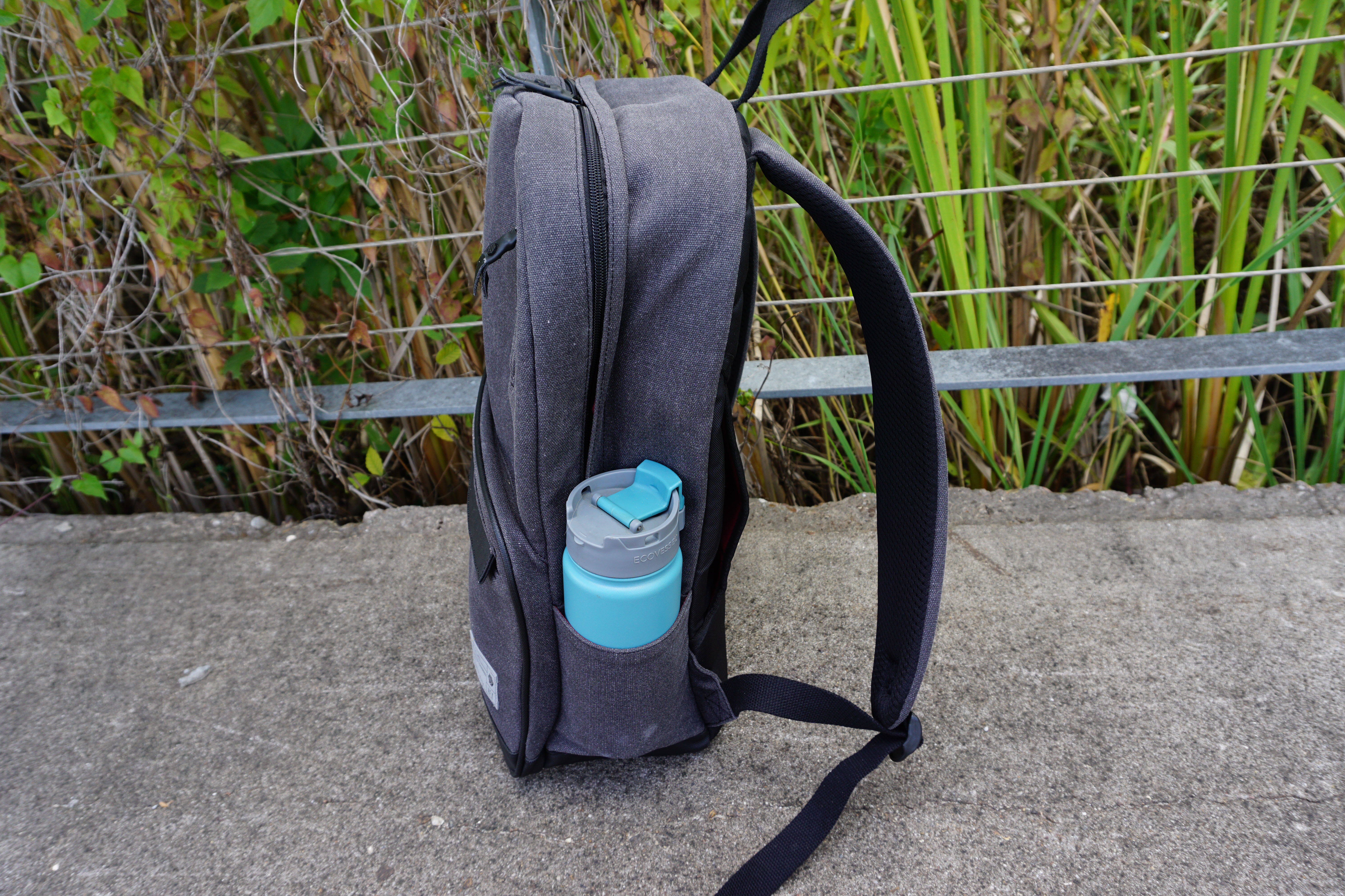 hex brand supply signal backpack review side view bottle pocket