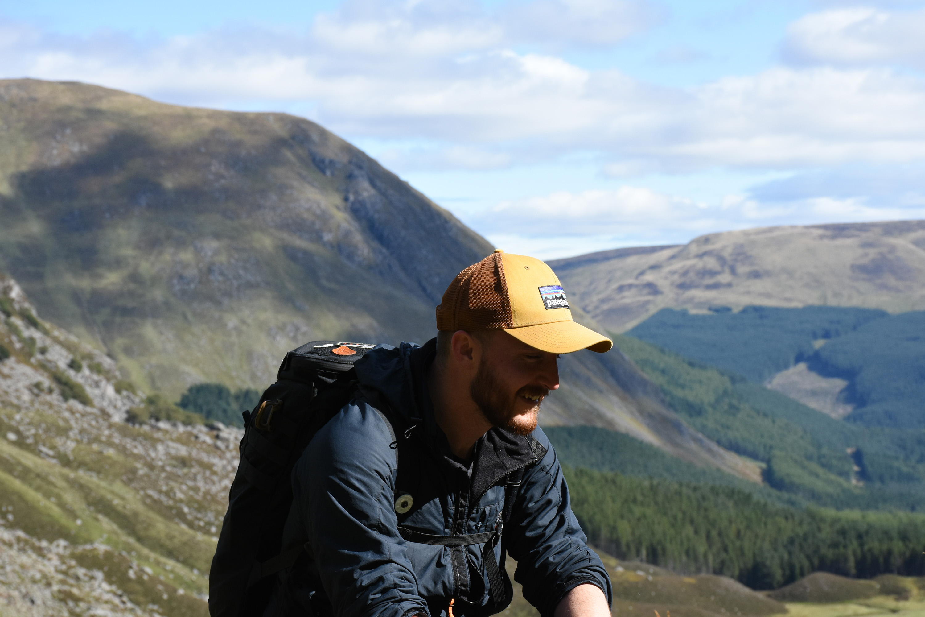 Mystery Ranch 1 Day Assault Pack backpack review outdoors hiking cairngorms scotland