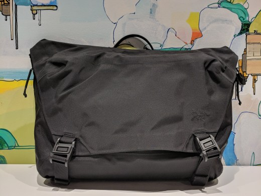 Arc'teryx LEAF Courier 15 bag Review backpack front view