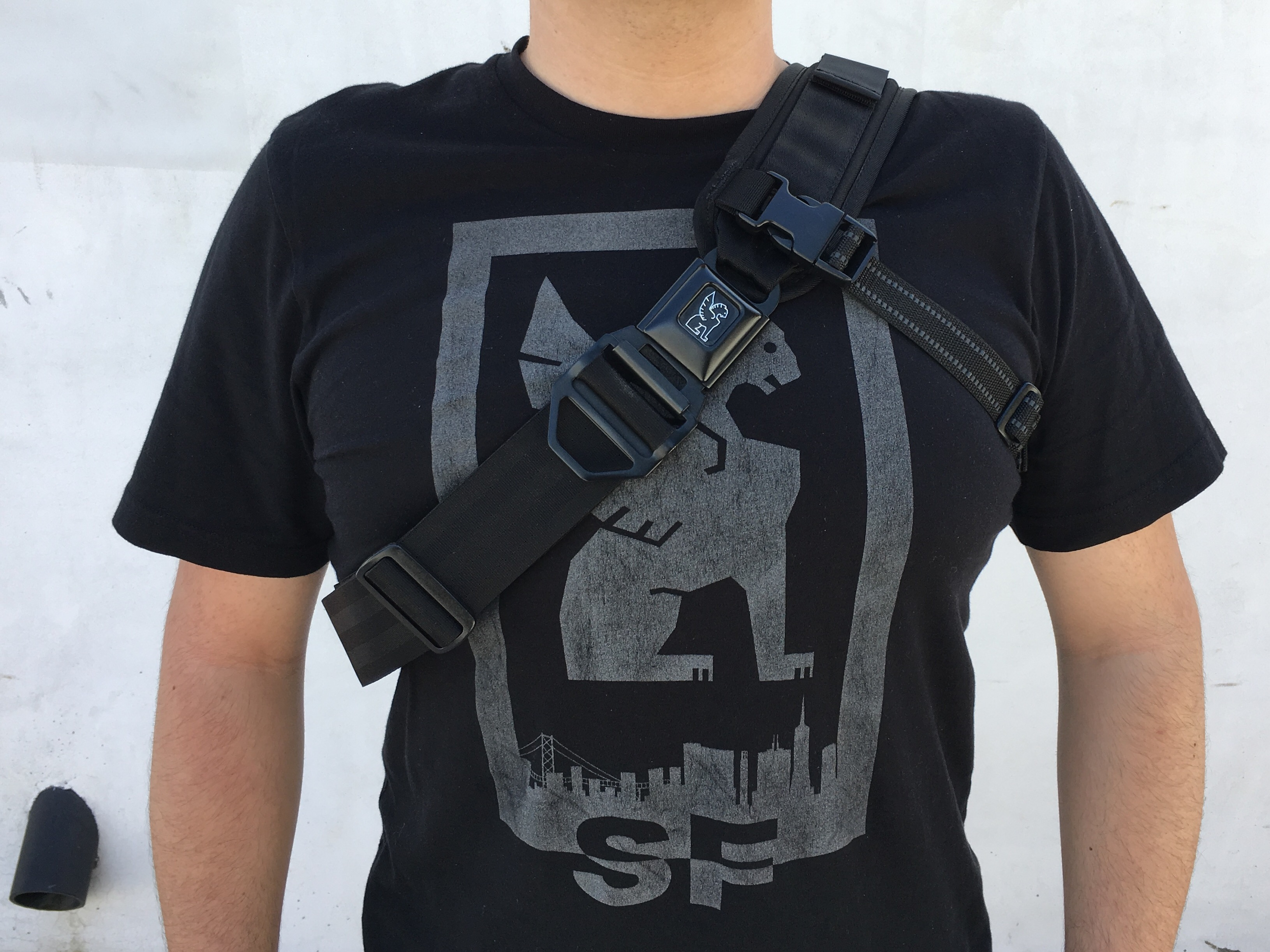 chrome industries kadet review on body strap