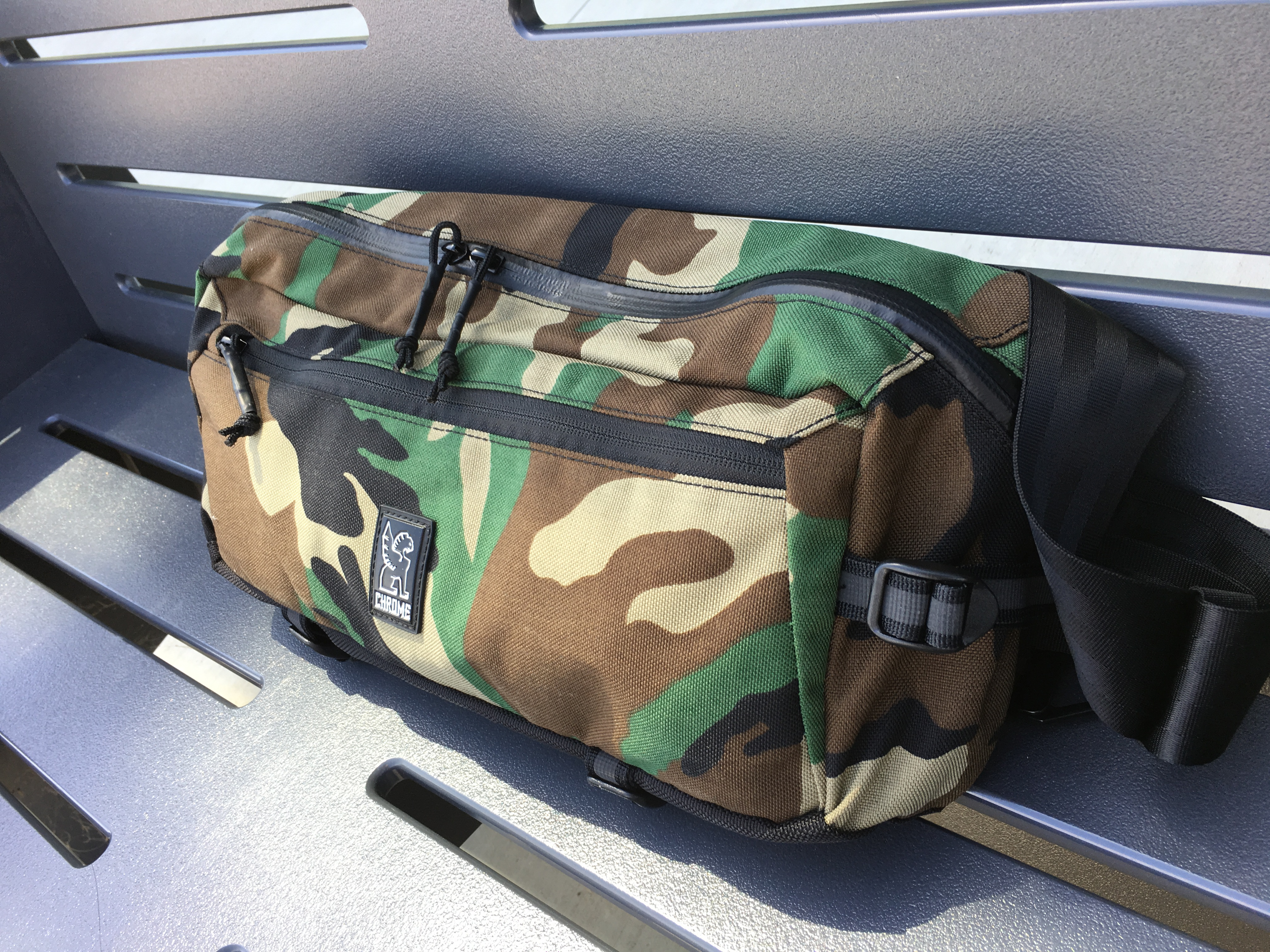 chrome industries kadet review side of bag