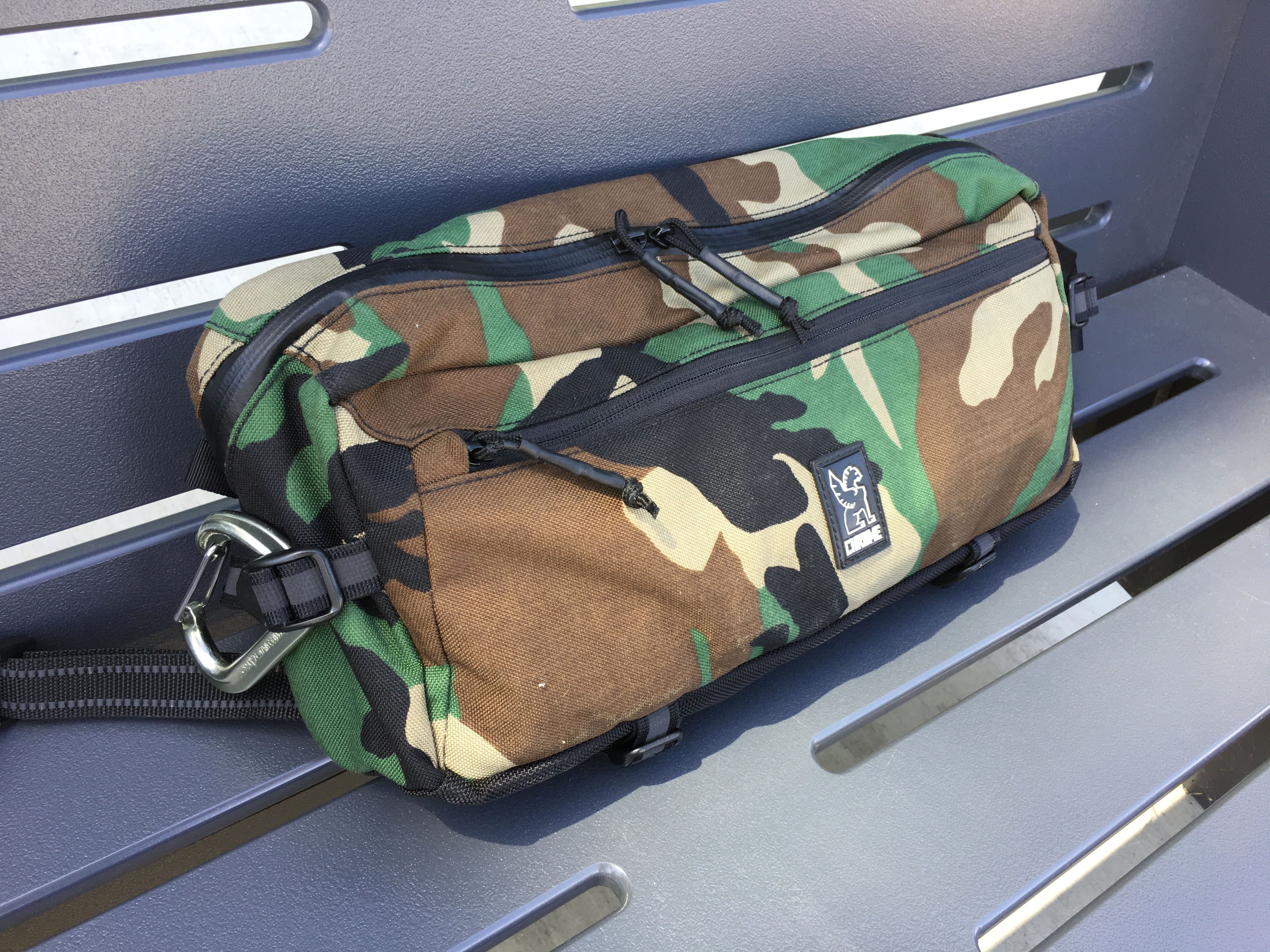 chrome industries kadet review front of pack