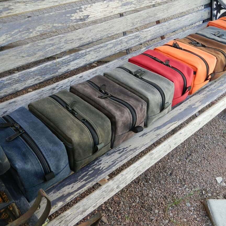 Provision Handmade Gear pouch lineup