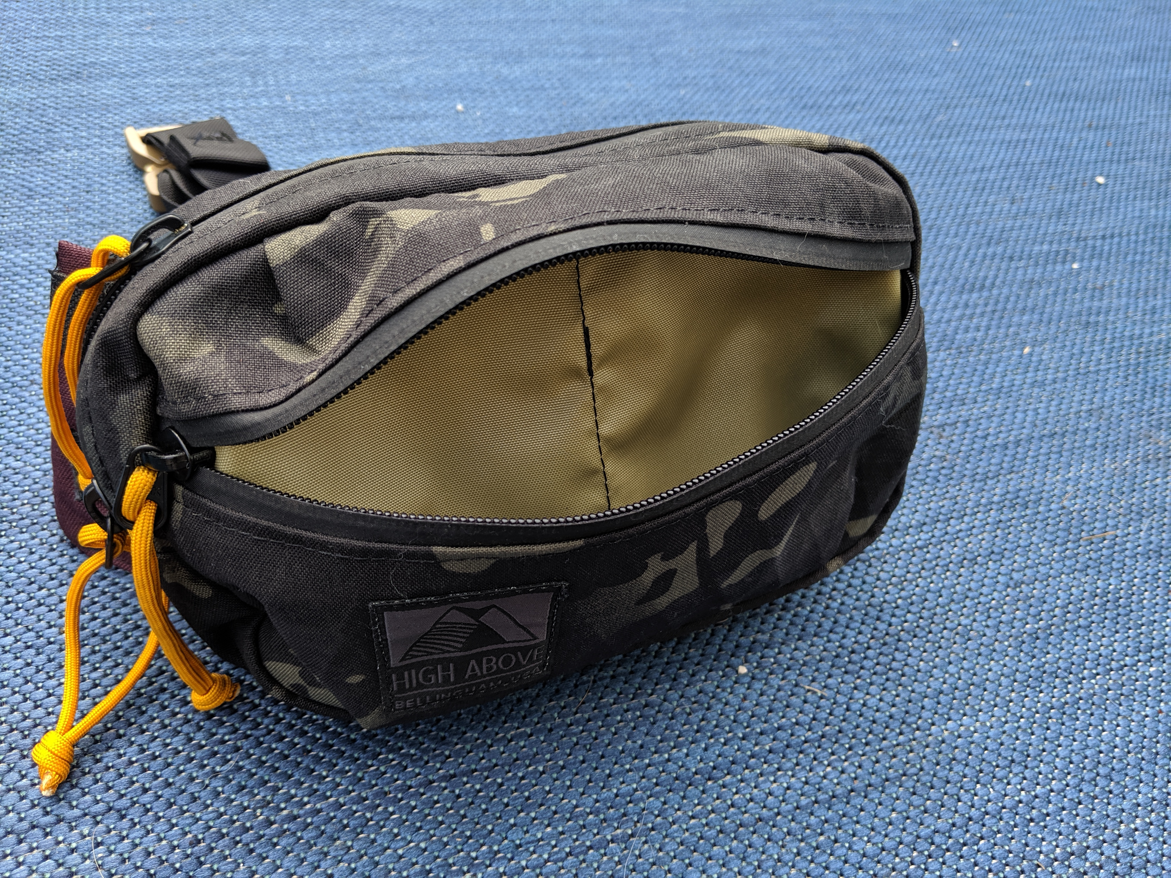 High Above Designs Lookout front pouch