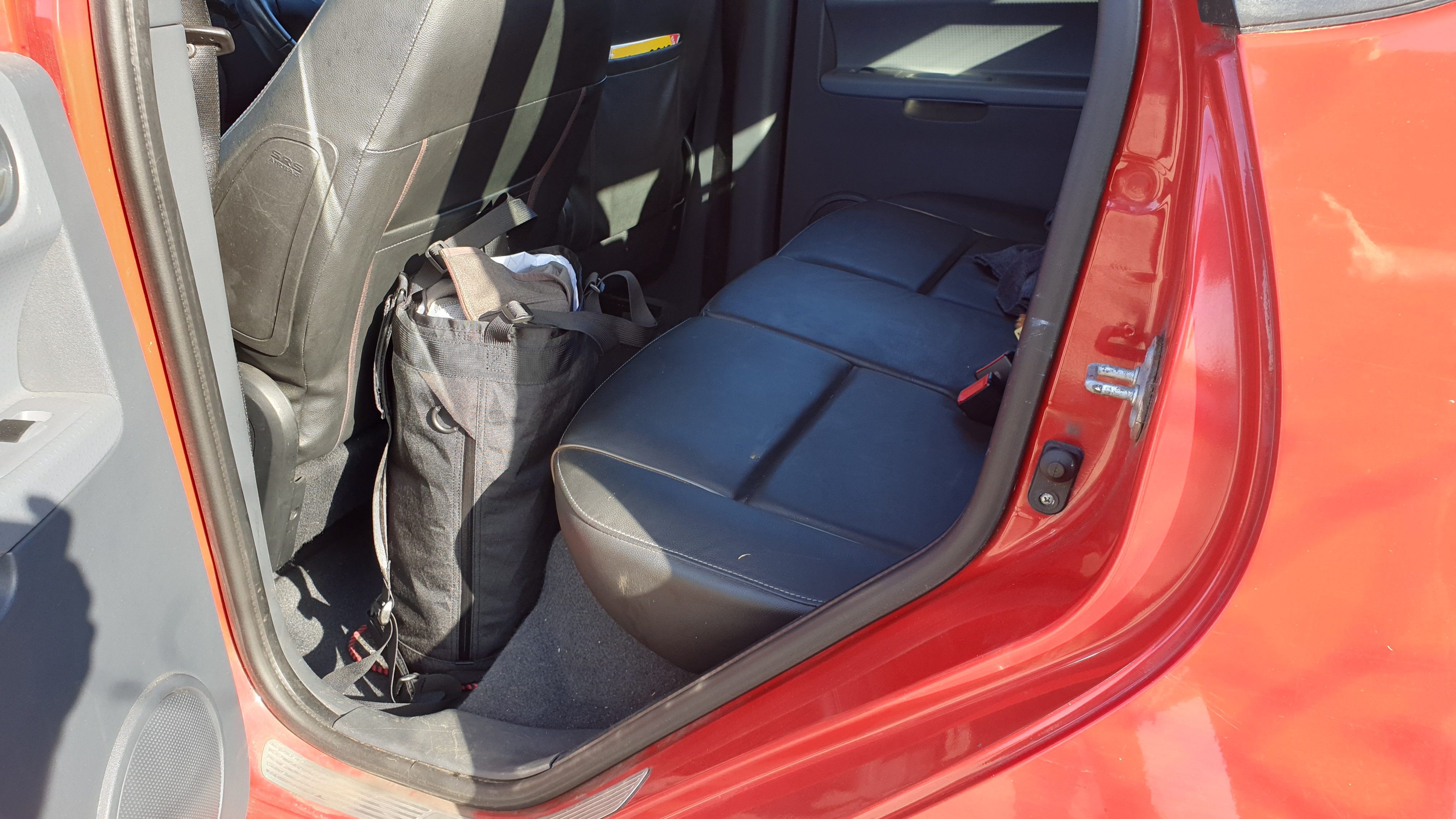 Remote Equipment Bravo 18 bag review in car storage luggage travel backpack